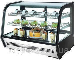 Витрина холодильная демонстрационная EWT INOX RTW-160L
