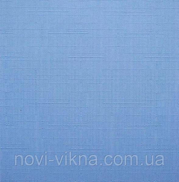 Рулонные жалюзи открытого типа, Len 2074, светло-синие.
