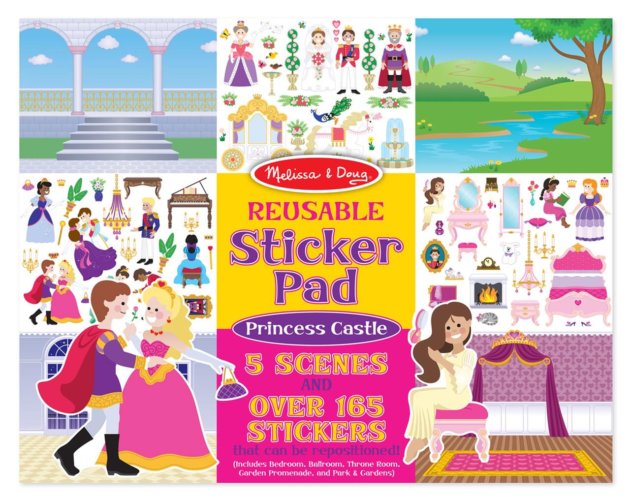 Набор многоразовых наклеек Принцессы Melissa&Doug (MD4306)