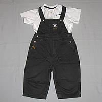 Джинсовый детский комбинезон Coolclub р.74-80 и футболка Old navy б/у