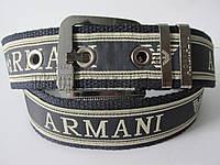 """Ремень мужской джинсовый стропа шпенёк (ткань, 45 мм.) """"Remen"""" LM-638"""