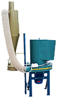 Измельчитель зерна  с циклоном 380 В, 7,5 кВт (зернодробилка, зернорезка, зерноизмельчитель)