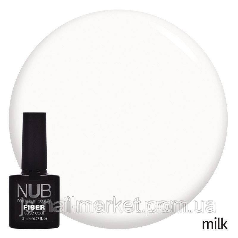 База з армуючими волокнами NUB Fiber Base Coat Milk