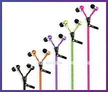 """Навушники з мікрофоном Zipper """"Супер Бас"""""""