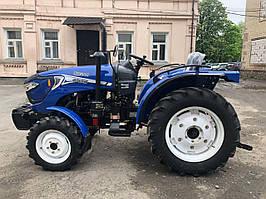Міні-трактор Оріон RF-244 - реверс КПП, широка гума