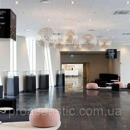 Акустична вологостійка плита Rockwool Rockfon Sonar 600x600x20 мм біла, фото 2