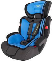 Автокресло детское Summer Baby Cosmo 9-36 кг. серое с голубым