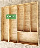 Лоток для приборов из дуба Lot 206 500х400. (индивидуальные размеры)