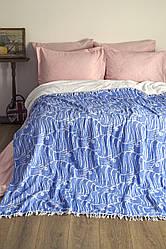 Плед-накидка Barine - Casomollis Throw 180*240 Голубой