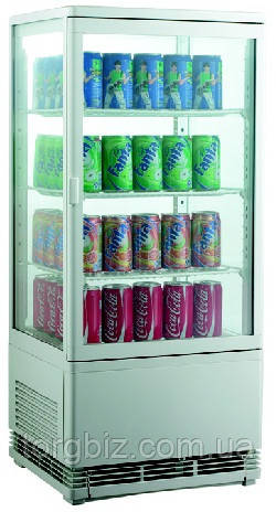 Шкаф-витрина холодильная EWT INOX RT78L