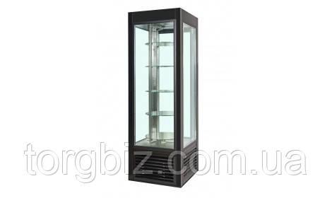 Шкаф холодильный COLD ATENA-504-L (L/O) SW-504 застекл.4 сторон