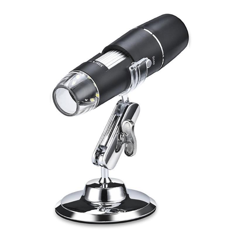 Электронный WiFi микроскоп 1000 крат на подставке