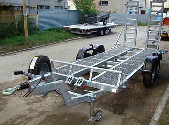 Прицеп для мини тракторов / экскаваторов