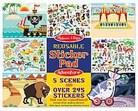 Набор многоразовых наклеек Приключения Melissa&Doug (MD9115), фото 1
