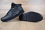 Мужские зимние ботинки Reebok высокие (черные), фото 4