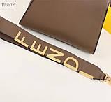 Сумка от Фенди Peecaboo  27 см, кожаная реплика, фото 3