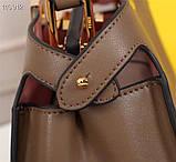 Сумка от Фенди Peecaboo  27 см, кожаная реплика, фото 9