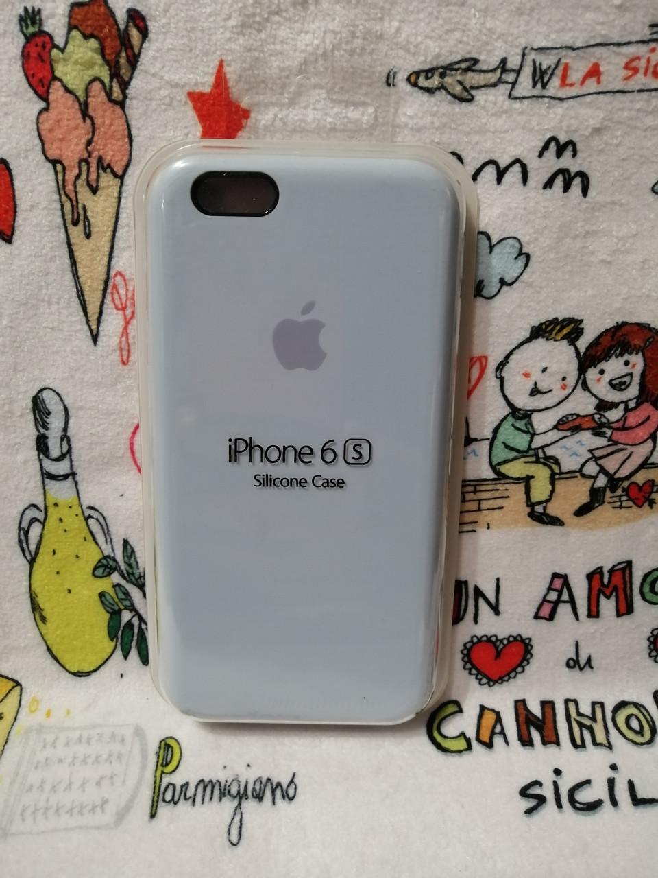 Силиконовый чехол для Айфон  6 / 6S  Silicon Case Iphone 6 / 6S в защищенном боксе - Color 34