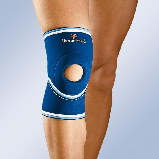 Неопреновий м'який наколінник з відкритою колінною чашечкою арт 4101 Orliman (Іспанія)