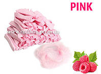 Шапочка одноразовая розовая нетканая (спанбонд) на резинке Polix PRO&MED™ (100 шт/уп)