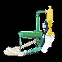 Измельчитель зерна промышленный 380 В, 18,5 кВт (зернодробилка для пшеницы, овса, ржи, кукурузы)