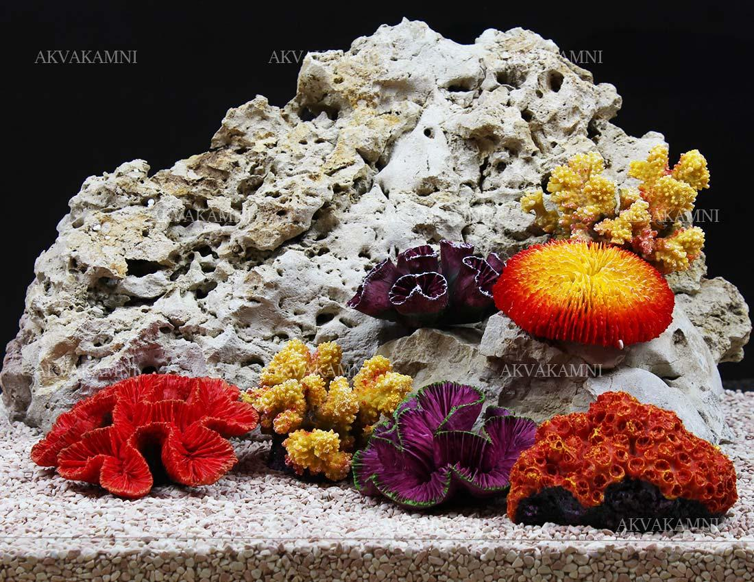 Набор кораллов для дизайна аквариума Trixie