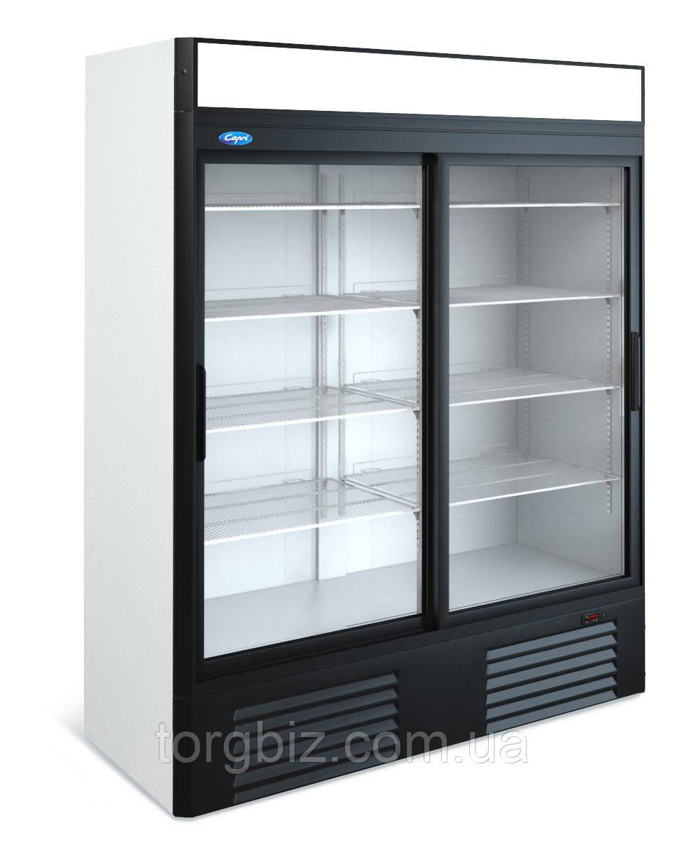Универсальный холодильный шкаф МХМ Капри 1,5УСК купе