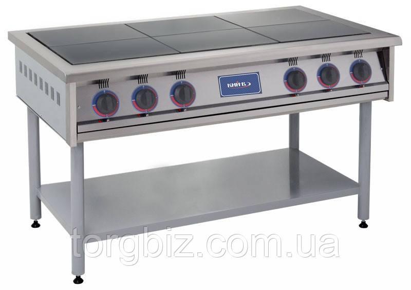 Плита электрическая 6 конфорочная ПЕ-6 промышленная