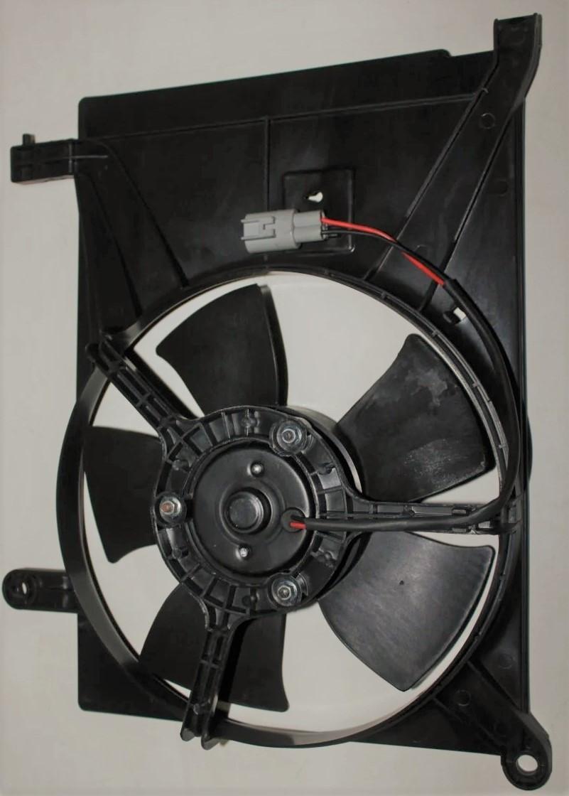 Вентилятор додатковий (кондиціонера) Ланос grog Корея 96182264