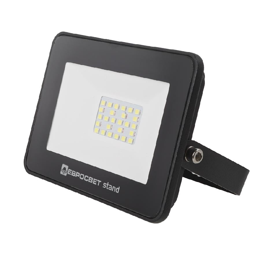 Прожектор светодиодный Евросвет EV-20-504 STAND 20Вт 6400К 1600Лм (000039738)