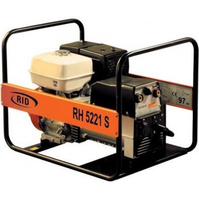 Однофазный бензиновый генератор RID RH 5221 S (5 кВт)