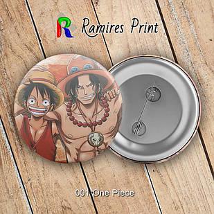 Значок Аниме One Piece
