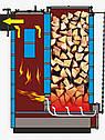 6 кВт TORNADO Standart твердотопливный котел СТАЛЬ 5 мм, фото 9