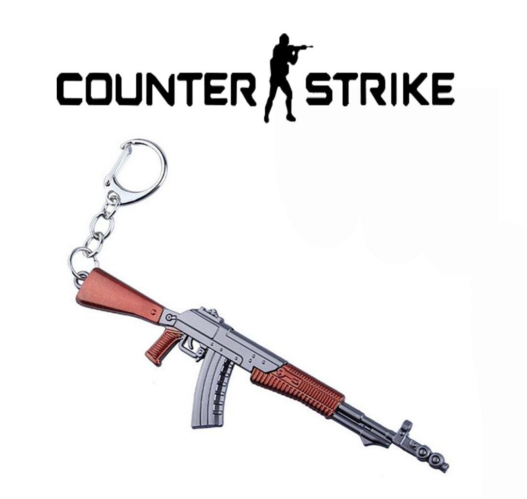 Брелок Автомат Калашникова Counter Strike CS:GO