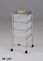 Столик для хранения передвижной на четыре ящика Onder Mebli SR-1347