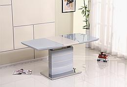 Стол  обеденный раскладной Houston Grey Gloss  (Хьюстон) DT-9123-1  Evrodim, цвет серый
