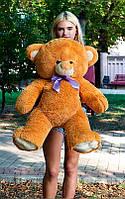 Плюшевый Мишка Томми 100см Все Цвета Мишка игрушка Плюшевый медведь Мягкие мишки игрушки Ведмедик (Коричневый)