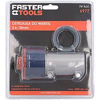 Насадка на дрель для заточки сверл, D 3,5-10 мм Faster Tools 6977