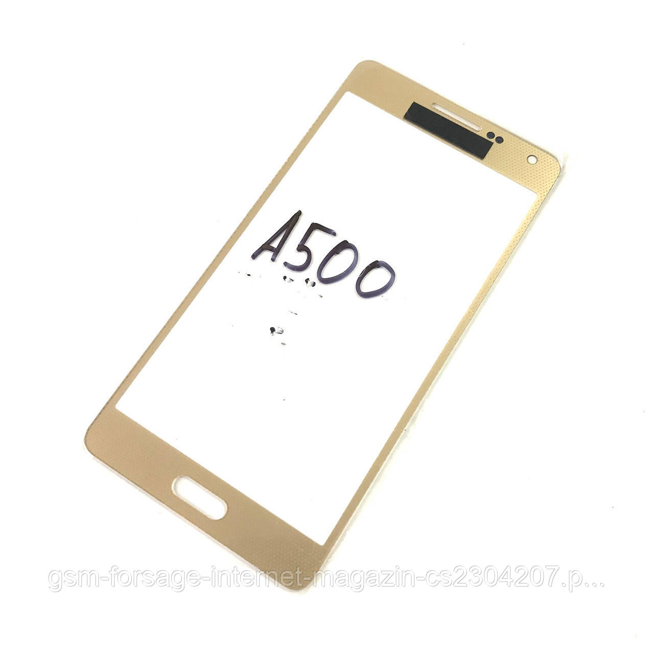 Стекло дисплея Samsung Galaxy A5 SM-A500F Gold (для переклейки)