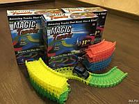 Детская гибкая игрушечная дорога Magic Tracks 220 деталей, детский гоночный трек, фото 1