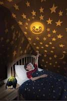 Ночник-проектор звездного неба, dream lites-пингвин Необычный подарок