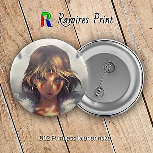 Значок Аниме Princess Mononoke