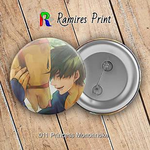 Значок Аниме Princess Mononoke 011