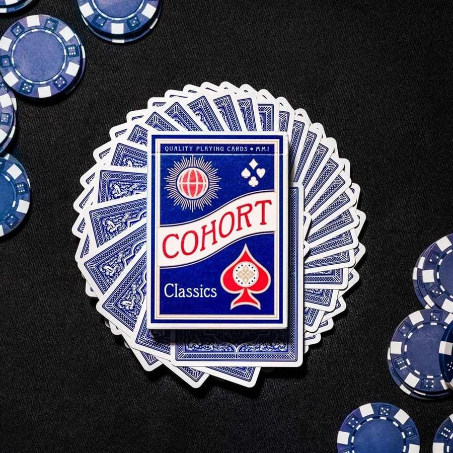Карты игральные   Cohort Blue by Ellusionist