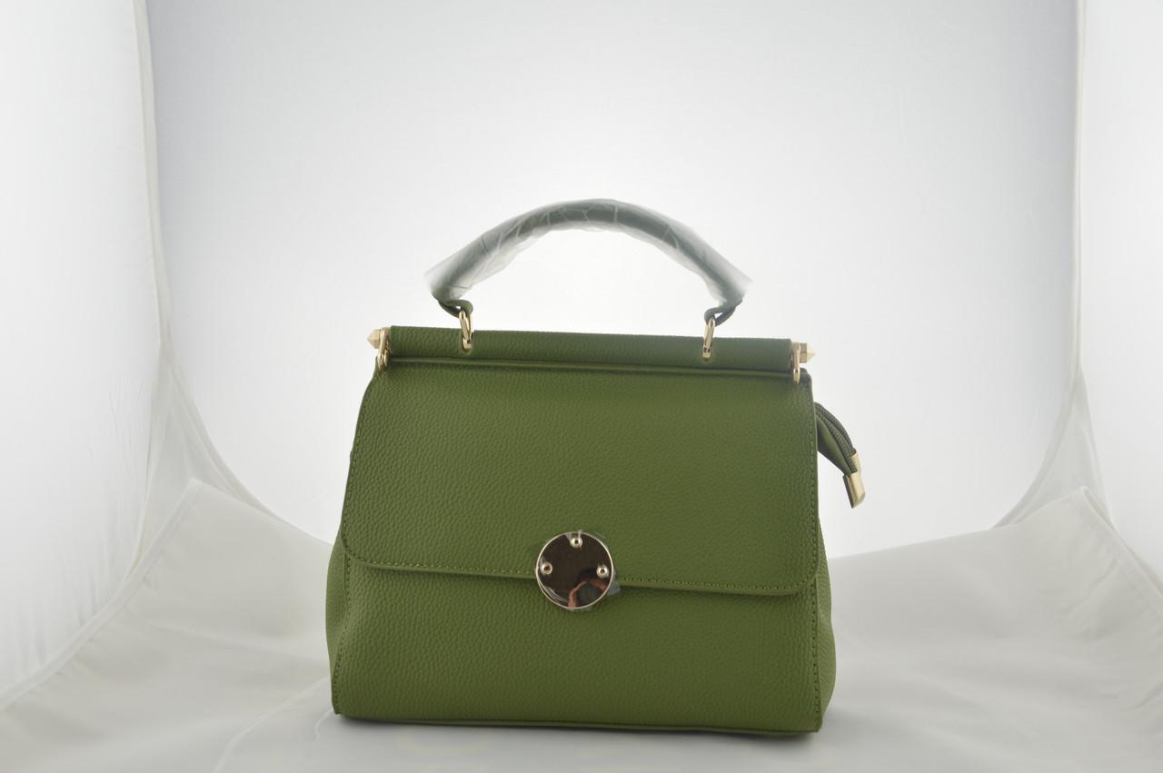 Женская сумка зеленая сумочка