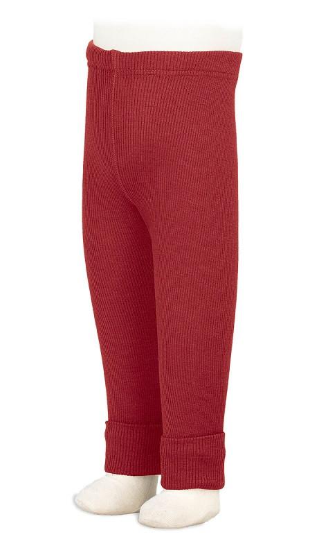 Термолеггинсы из шерсти мериноса MAM ManyMonths (размер 80-92/98, красный)