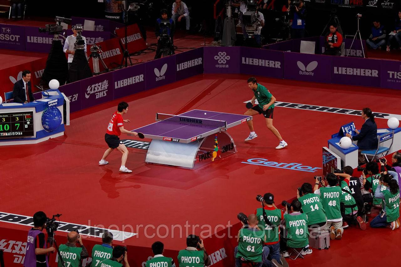 Спортивный линолеум для настольного тенниса TARAFLEX TABLE TENNIS