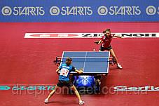 Спортивный линолеум для настольного тенниса TARAFLEX TABLE TENNIS, фото 3