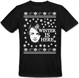 Футболка Game Of Thrones - Winter Is Here (чёрная)