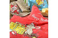 Набор Вафельных новогодних полотенец  (47*60)